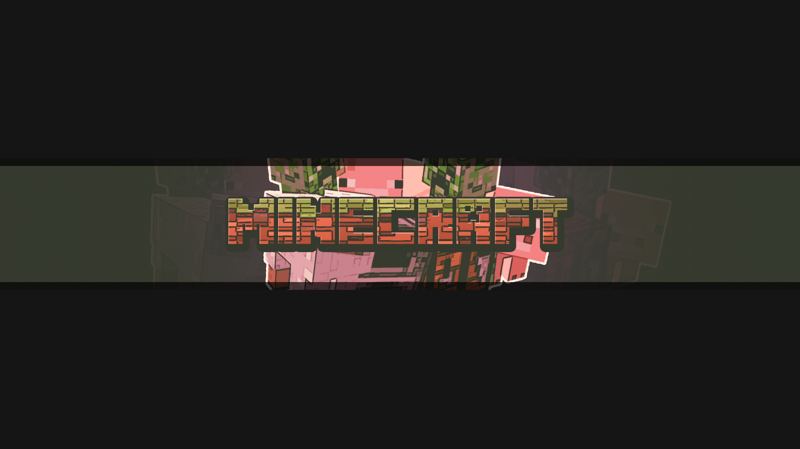 Minecraft 2560x1440 Banner Pictures Free Download